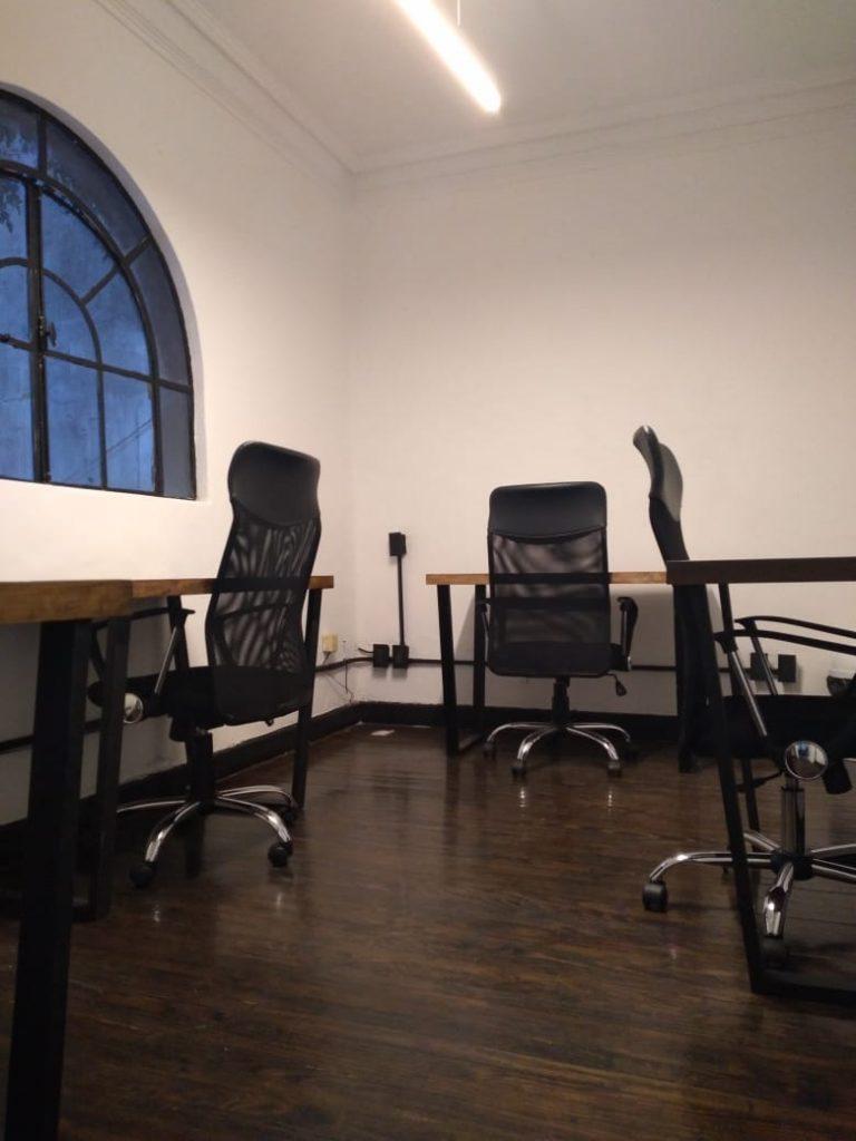Renta Oficinas Coworking Parque Hundido